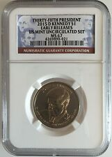 NGC MS67 2015-D John F Kennedy Presidential Dollar Early Releases Gem Unc