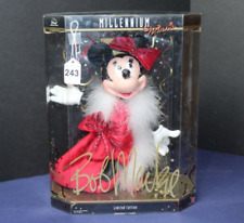 Millennium Minnie Mouse Doll Limited Edition Bob Mackie Design One Owner 2008