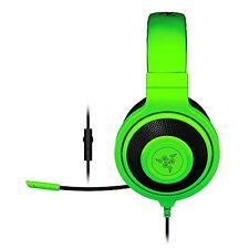 Razer Kraken pro 2015 expert Gaming Casque, vert, prise jack, stéréo