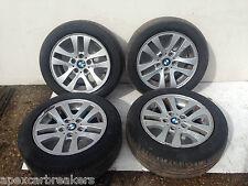 "BMW 3 Series Alloy Wheel Set E90 e91 Alloys 16"" 2007 320d alloys"