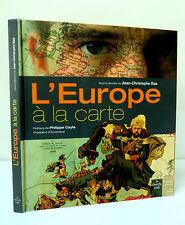 L'EUROPE A LA CARTE - Collectif Dtion Jean -Christophe BAS -Ed CHERCHE MIDI 2003
