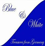 BLUE WHITE treasures_from_germany