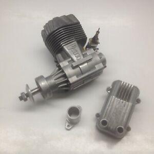 Super Tigre G4500 RC Engine with Genuine Super Tigre Muffler