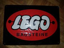 LEGO Blechschild 50iger Jahre Stil - Rarität - RARE