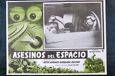 KILLERS FROM SPACE PETER GRAVES BARBARA BESTAR MEXICAN N MINT LOBBY CARD 1954
