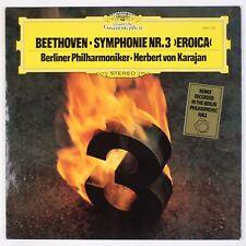 BEETHOVEN: Symphony No. 3, Eroica DGG 2531 103 W. Germany KARAJAN LP NM