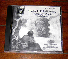 CD: Tchaikovsky - Symphony No. 6 in B Minor, Op. 74 (1987, Teldec) Kurt Masur