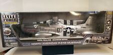 "BBI ELITE FORCE  USAF  P-51D MUSTANG  WWII  FIGHTER "" KILLER"" 1:18 SCALE  W/BOX"