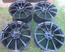 "HG Set of 4 MINT 20"" GENUINE Aston Martin alloy wheels BLACK: DB11, new Vantage"