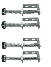 "2 Pairs of Garage Door Bumper Pusher Springs(9"" Length)Maintains Cable Tension"
