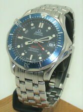 OMEGA 41mm SEAMASTER CO-AXIAL GMT DIVERs 300m AUTOMATIC WATCH Ref 2535.80.00