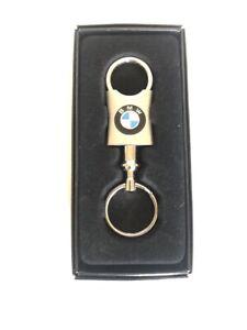 BMW Silver Key Ring with BMW Logo