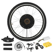 """48V1500W Front Electric Bicycle Motor Conversion Kit EBike Wheel Cycling Hub 26"""""""