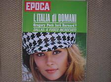 FAYE DUNAWAY EPOCA 1968 #918 PRE VIDEO GAMES RUDI DUTSCHKE PIERINO PRATI CALCIO