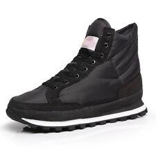 Mens Women Winter Warm Waterproof Platform Snow Boots Fleece Lined Ankle Boots