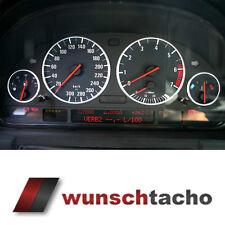"""Tachoscheibe für BMW E38-E39/E53/X5  """"Black Orig."""" 300 Kmh  Benziner"""
