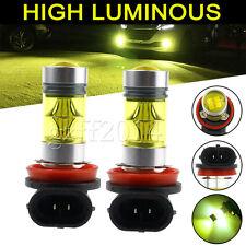 4300K yellow H11 H8 Fog Lights SAMSUNG 2323 LED High Power 100W Driving Bulbs