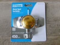 Metal Circular Spot Sprinkler by Melnor 450sq ft - New - Free shipping!