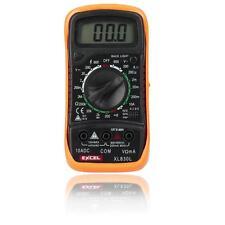 New Digital LCD Multimeter Voltmeter Ohm Volt Tester Ohmmeter Ammeter AC DC