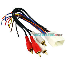 AFTERMARKET CAR STEREO/RADIO WIRING HARNESS, TOYOTA 8112 WIRE ADAPTER/PLUG