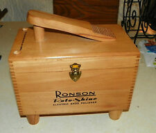 Ronson Shoe Shine Box with Electric Polisher  (HD54)