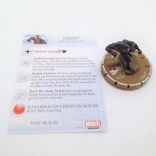 Heroclix Deadpool set Venom (Zombie) #066 Chase figure w/card! Team Base