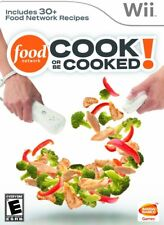 Food Network: Cook or be Cooked (2009) Brand New Factory Sealed USA Nintendo Wii