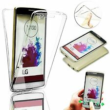 New Shockproof 360° Protective Clear Gel Case Cover For LG G6 G5 G4 K10 K8 2017