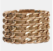 Cara Leather Link Women's Bracelet 0744