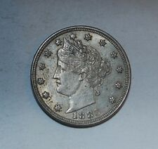 1883 5C No CENTS Liberty Nickel---M133