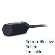 Fotocélula M18 espejo reflex photoelectric sensor switch Omron E3F1-RP11