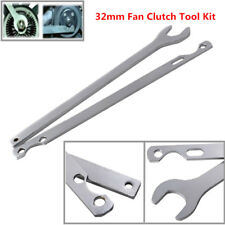 For BMW 32mm Fan Clutch Nut Wrench Water Pump Holder Removal Tool Kit 2piece set