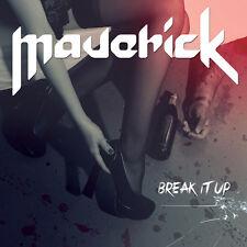 MAVERICK-BREAK IT UP-EP CD spanish heavy metal-ADGAR-WARCRY-BARON-SANGRE AZUL