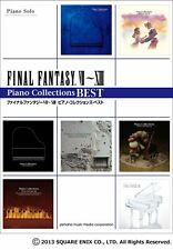 Final Fantasy VII-XIII Piano Collections Best Score Music Book From Japan NEW