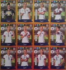 PANINI ADRENALYN XL FIFA 365 2020 WOMEN'S WORLD CUP WINNER USA FULL SET 12 CARDS