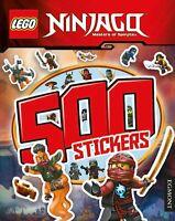 LEGO Ninjago: 500 Stickers Paperback NEW LEGO ACTIVITY BOOKS CHILDREN