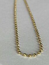 10k ITALY Gold Skinny Ankle Bracelet Chain  Anklet Ladies Women Teen