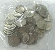 US $5.00 FACE SILVER Roosevelt DIMES, Dated 1964 OR BEFORE - 50 COINS TOTAL!
