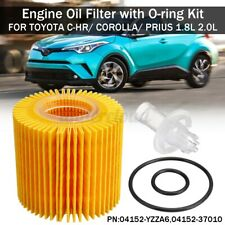Engine Oil Filter with O-ring Kit For Toyota C-HR Corolla Prius 1.8L 2.0L L l