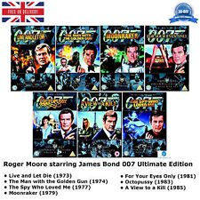 Roger Moore starring - James Bond 007 Ultimate Edition 2-Disc Set Collection DVD