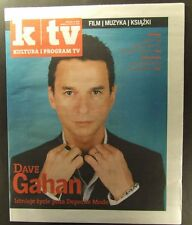 DAVE GAHAN DEPECHE MODE  mag.FRONT cover  Bob Marley, Garbage
