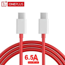 1.5M Original OnePlus 8T Warp 65W 6.5A Fast Charging Data Cable Dual Type-C Port