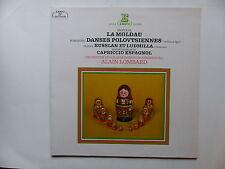 SMETANA La Moldau BORODINE Danses polovtsiennes dir LOMBARD 71150