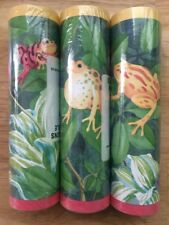 """15 Yards 7"""" Wide SEABROOK DESIGNS Tropical Tree Frogs Wallpaper Border #CC810B"""