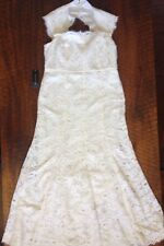 Ann Taylor Petite Lace Wedding Dress New With Tags Size 16P