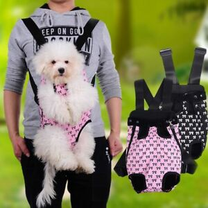 Pet Front Carrier Dog Backpack Cat Travel Bag Cute Puppy Breathable Shoulder