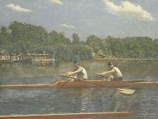 Thomas Eakins American Biglin Brothers Racing Old Arte Dipinto Manifesto bb6417a