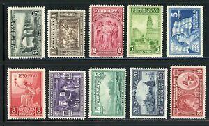 URUGUAY MH Selections: Scott #394-403 Independence Centenary Assortment $$