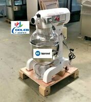 NEW 20 Quart Mixer Machine 3 Speed Commercial Bakery Kitchen Equipment NSF