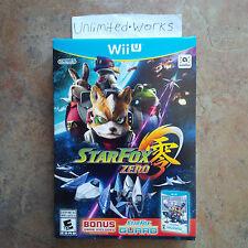 Star Fox Zero and Star Fox Guard 2 Game Bundle (Nintendo Wii U) Brand New Sealed